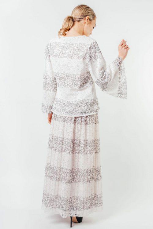 White Layla Full Lace Set
