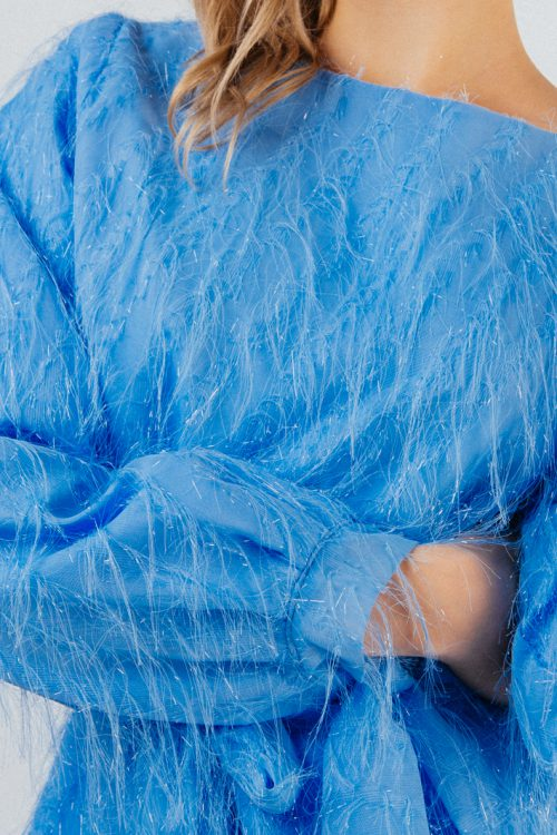 Blue Neveah Fluffy Set