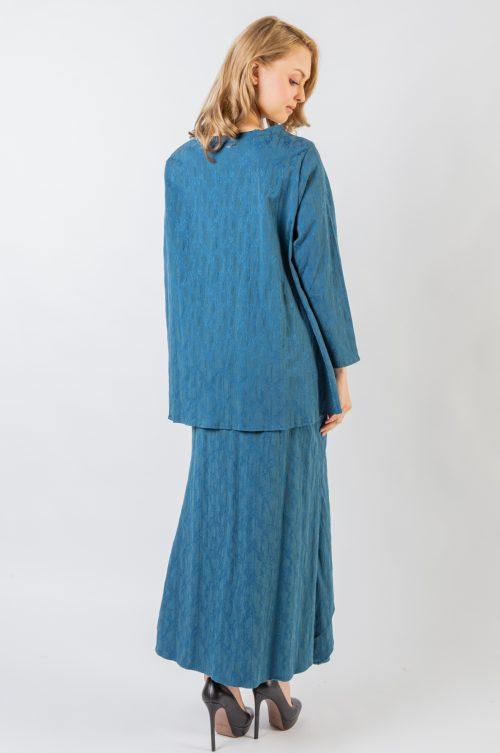Turquoise Lovina Plus Size Set