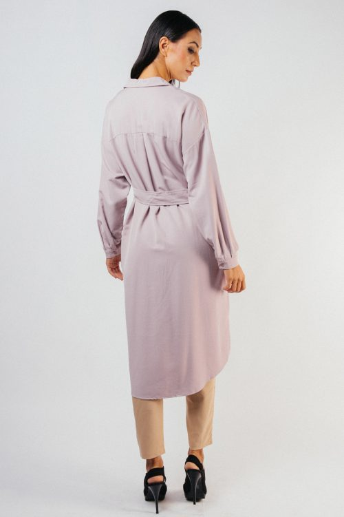 Pink Thyra Tunic with Belt