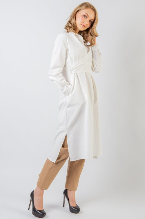 White Kate Cross Tunic
